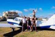 Brisbane City scenic flight departing Archerfield Airport