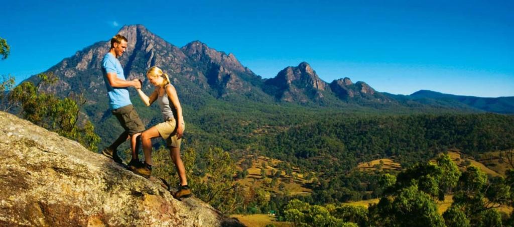 Rockclimbing Mt-Barney