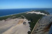 Moreton Island flyover - Bay Island Tour